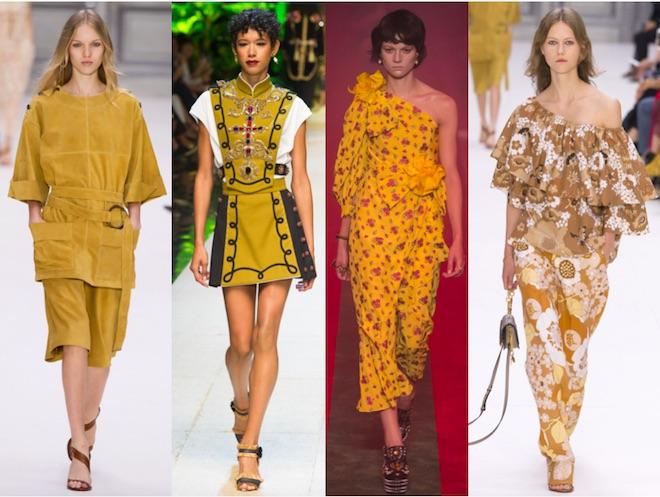 Primrose Yellow: Chloè, Dolce & Gabbana, Gucci, Chloè SS17