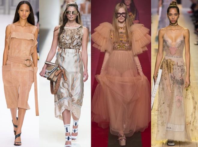 Hazelnut: Chloe, Gucci, Dior SS17