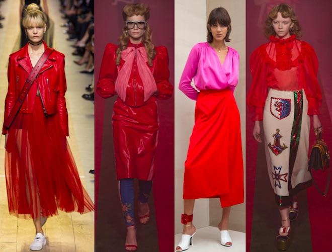 Flame: Dior Gucci, Attico, Gucci SS17